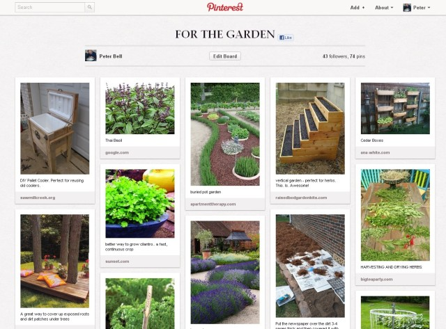 Pinterest ! are you using and taking advantage of it yet